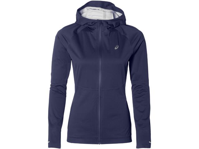 asics Accelerate Jacket Damen indigo blue